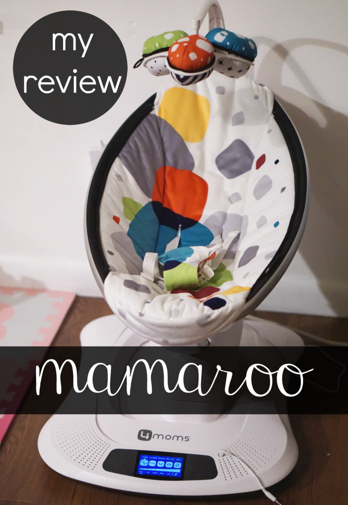 One mom's review of the mamaroo | www.gracefulmommy.com