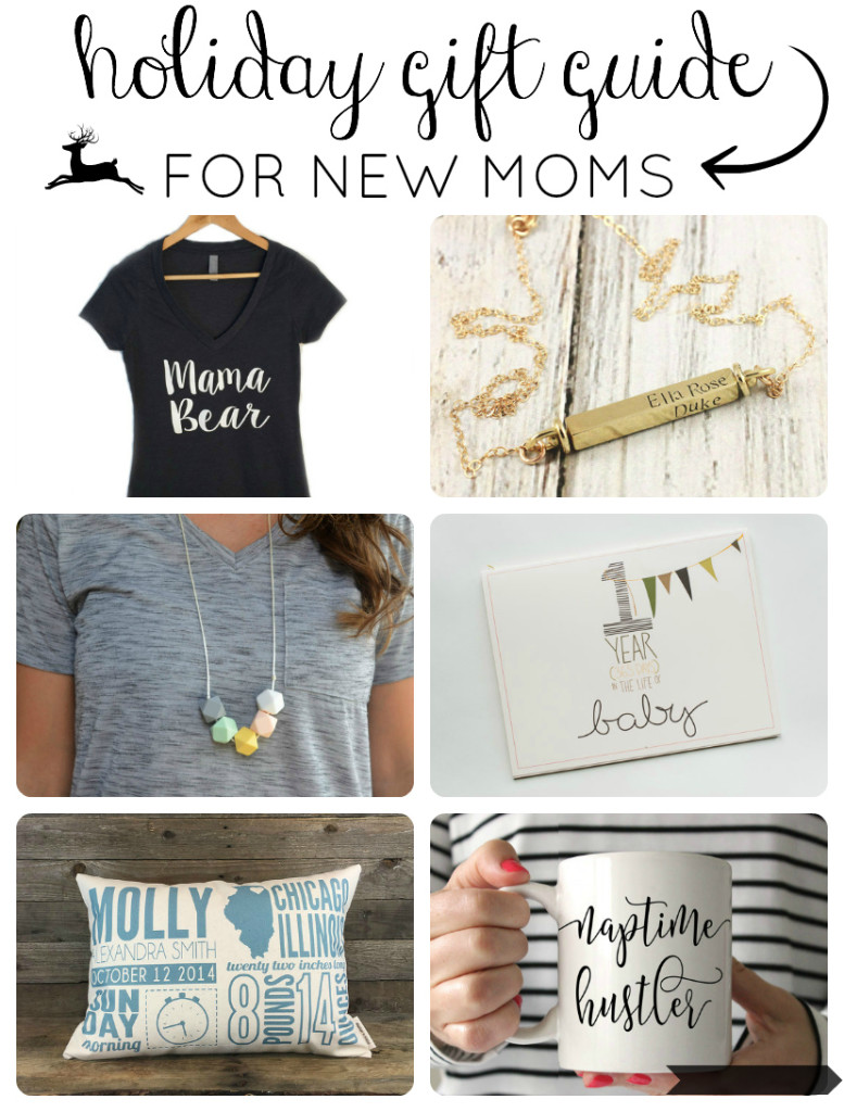 Holiday gifts for new moms - Great ideas! Gracefulmommy.com
