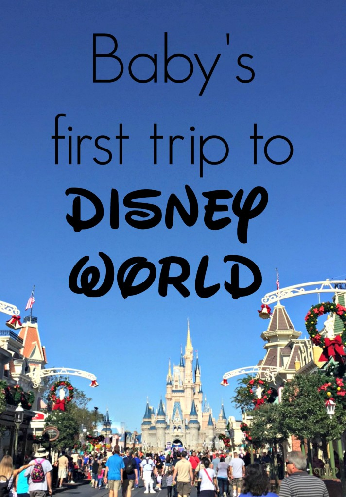 Baby's first trip to Disney World. Great tips and ideas on what to do with a baby at Disney. Gracefulmommy.com