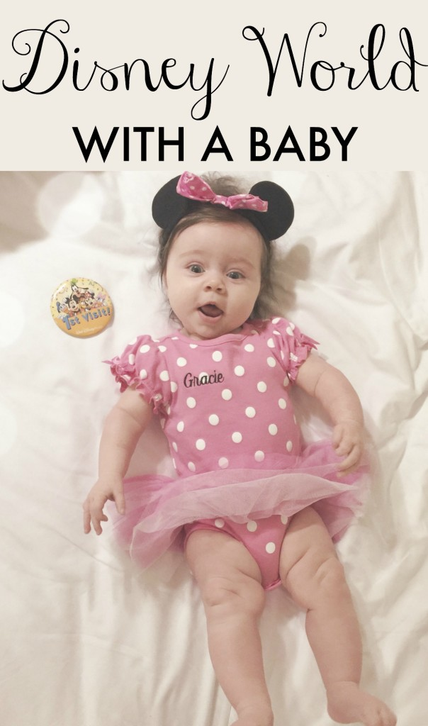 Disney World with a Baby- Tips and Tricks at Gracefulmommy.com