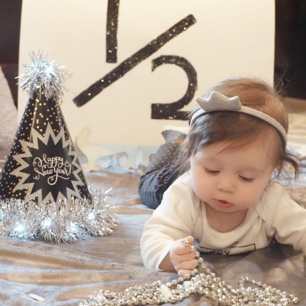 Gracie's 6 month update! Happy half birthday!