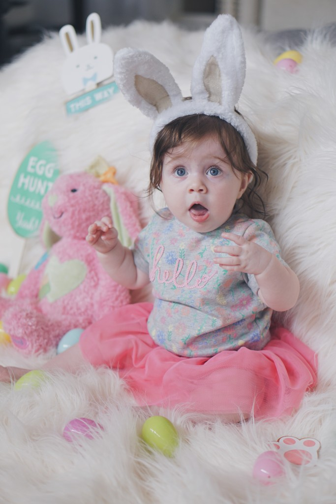 Gracie's First Easter! Gracefulmommy.com
