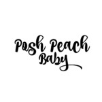 Small Shop: Posh Peach Baby. Adorable iron on appliqués, unique onesies, baby skirts, and more! Read more at gracefulmommy.com