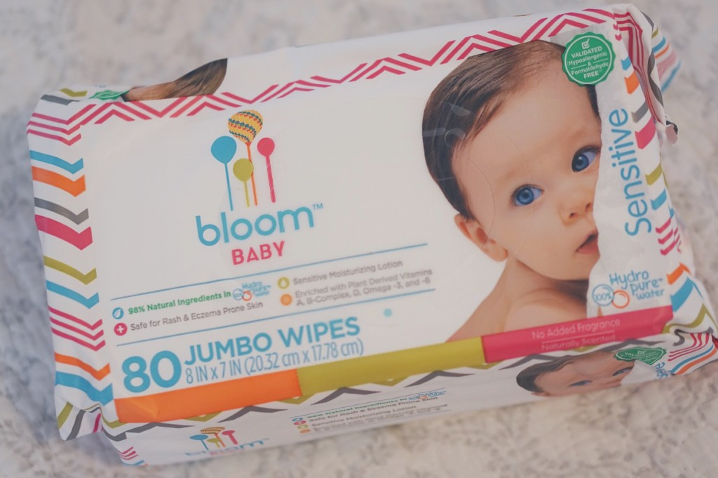 Bloom Baby Sensitive Wipes Review - Now in TARGET! Read more at gracefulmommy.com