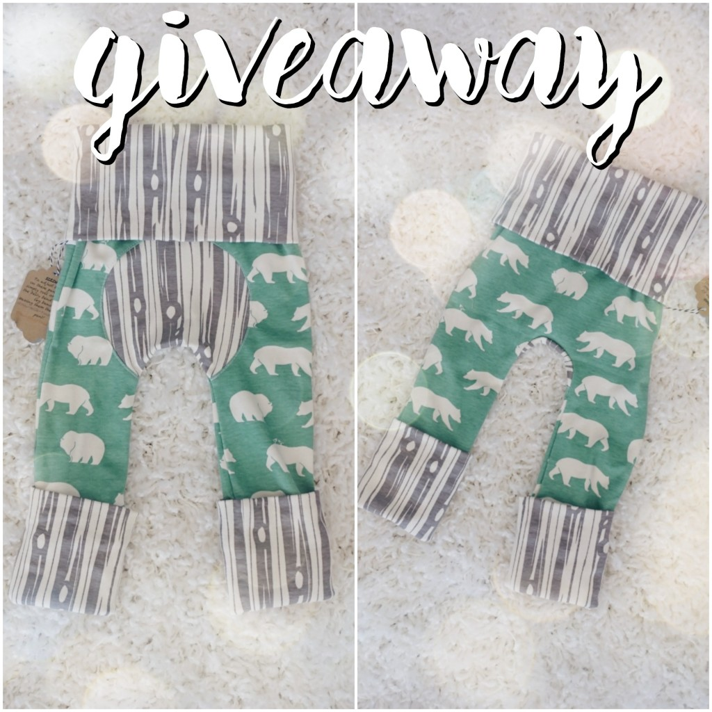 2 Little Ladybirds Maxaloones Giveaway! These are the perfect pants because they fit from 6 months - 3 years simply by rolling and unrolling the bottom and waistband!