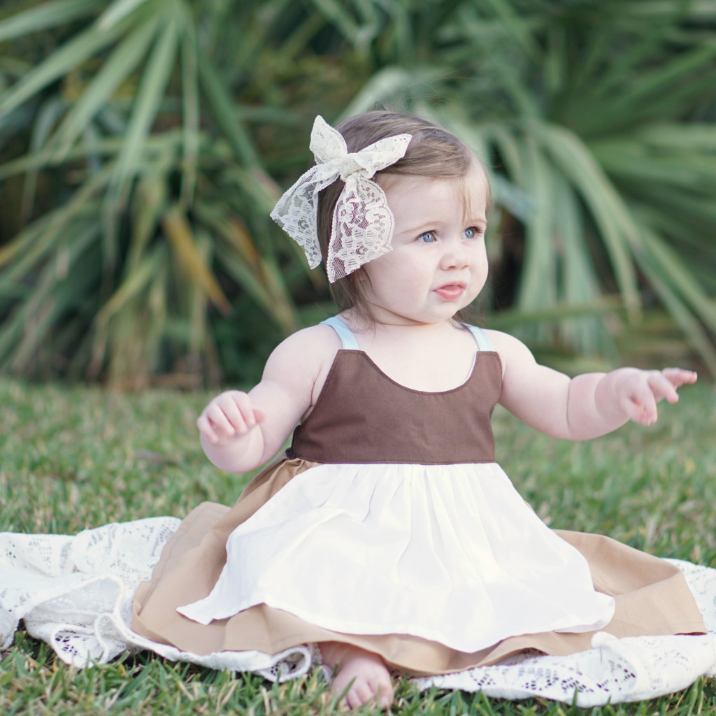 Cinderella Maid Dress from Little Miss Jane || Read more at gracefulmommy.com