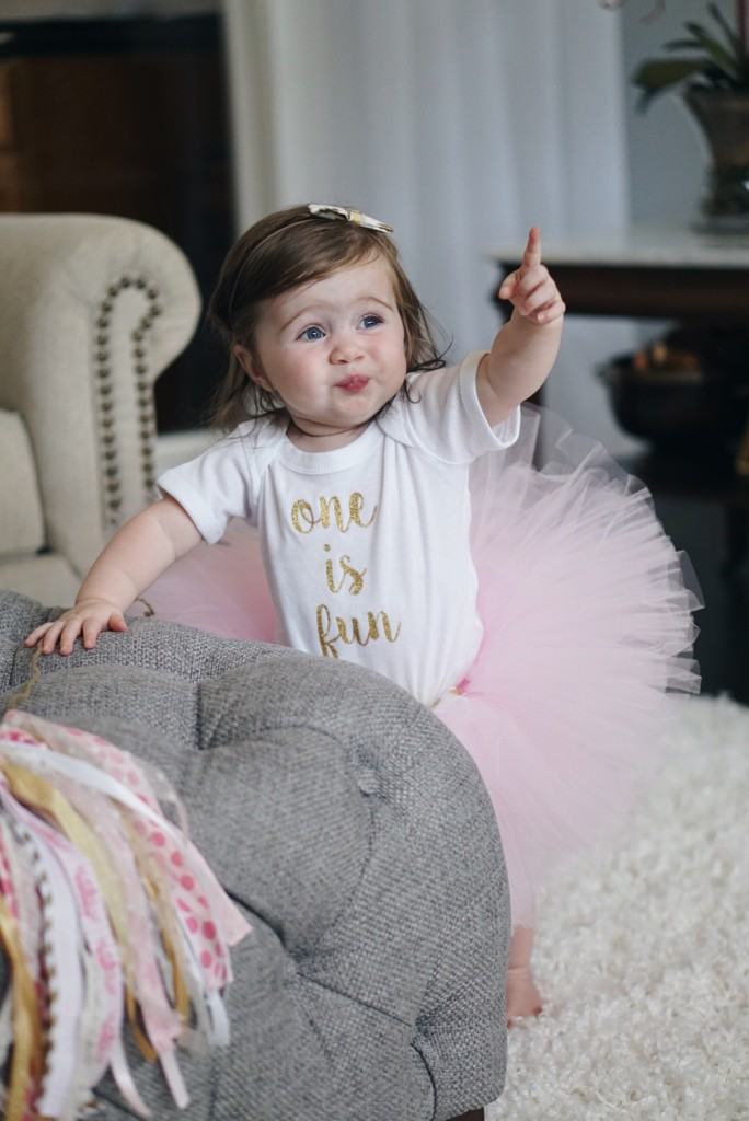Happy 1st Birthday Gracie! Read Gracie's ONE YEAR UPDATE on the blog. Gracefulmommy.com
