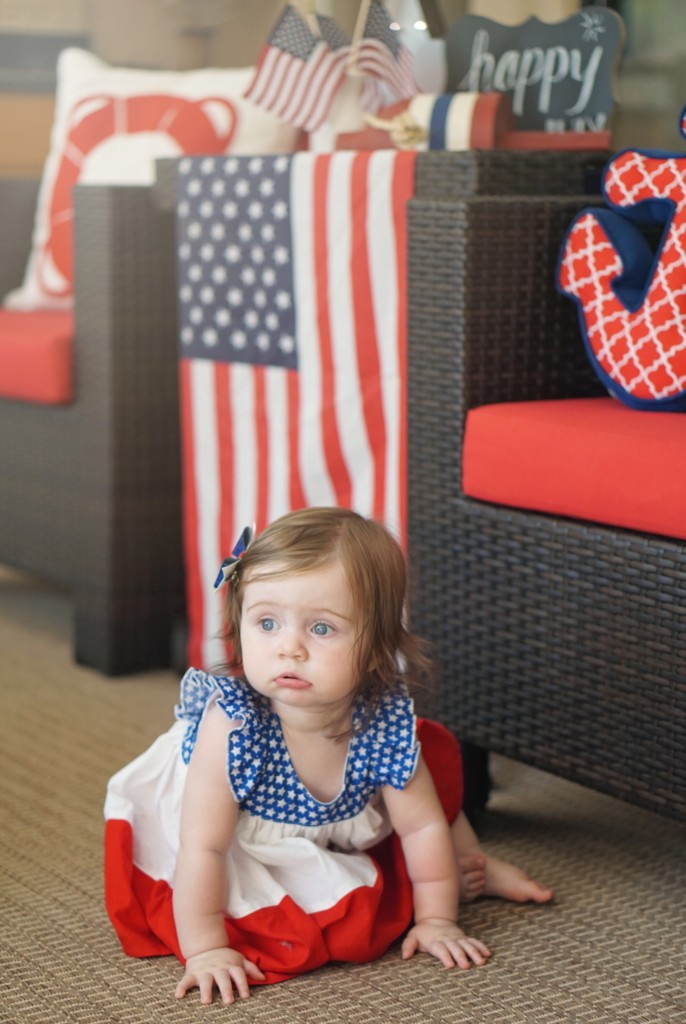 Happy 4th Of July from Gracie! See more at gracefulmommy.com