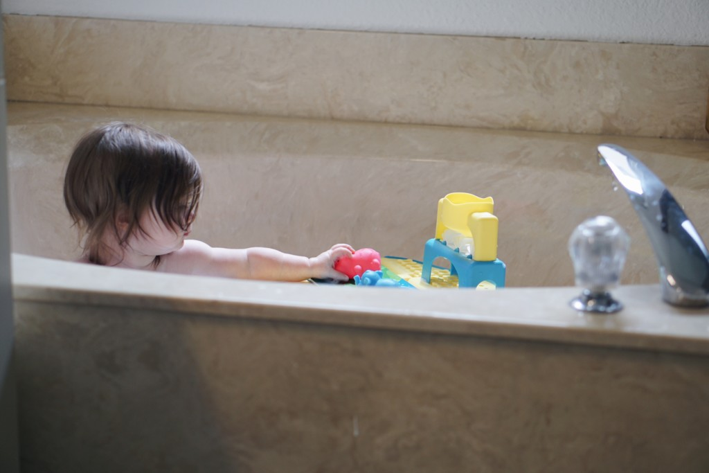 Make bath time fun with Tubby Table! Read more at Gracefulmommy.com