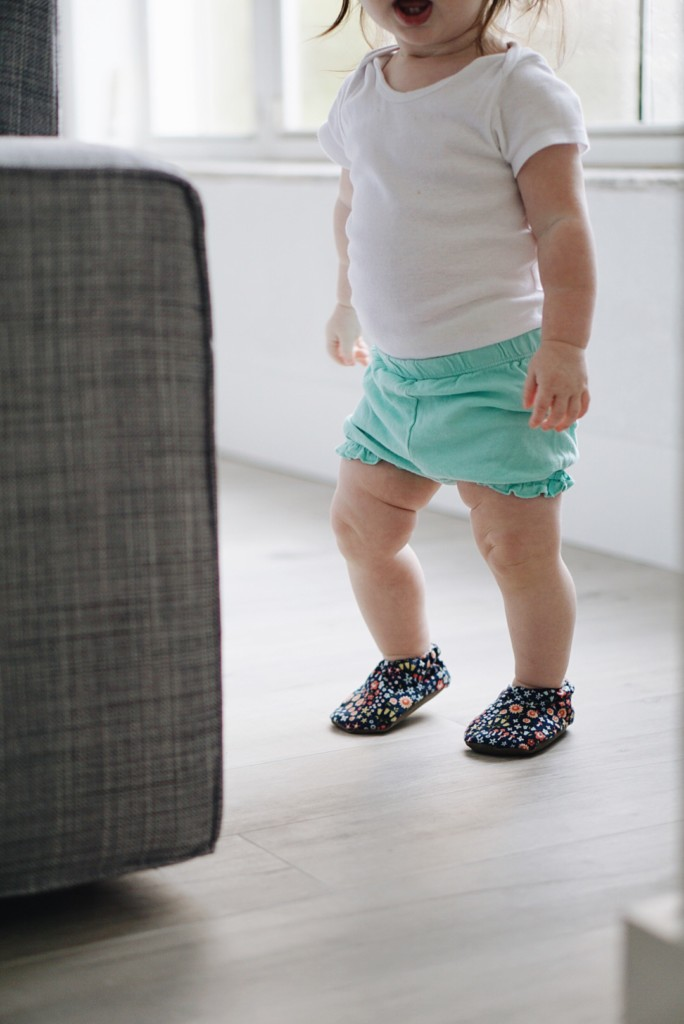 Cabooties Baby shoes are super cute and fit perfect! They don't fall off even the most active baby or toddler!