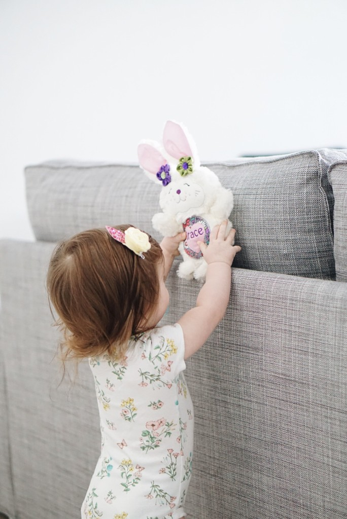 How cute is this stuffie from Little Troublemakerz! Make it your own by customizing the animal and the colors!
