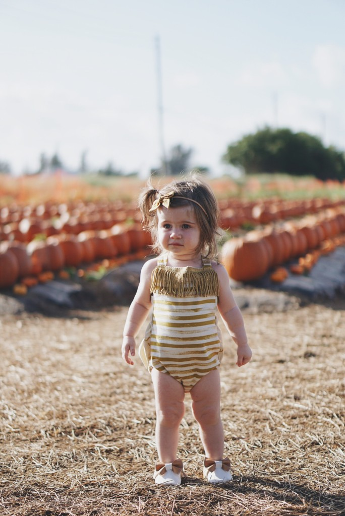 Pumpkin Patch Photography with a toddler