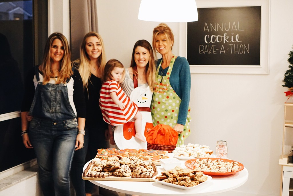 Christmas Tradition of baking Christmas cookies! Such an adorable tradition to pass down the generations!
