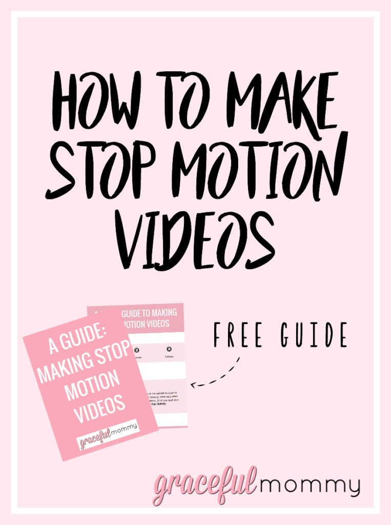 A guide to making those amazing stop motion videos! Awesome post! Gracefulmommy.com
