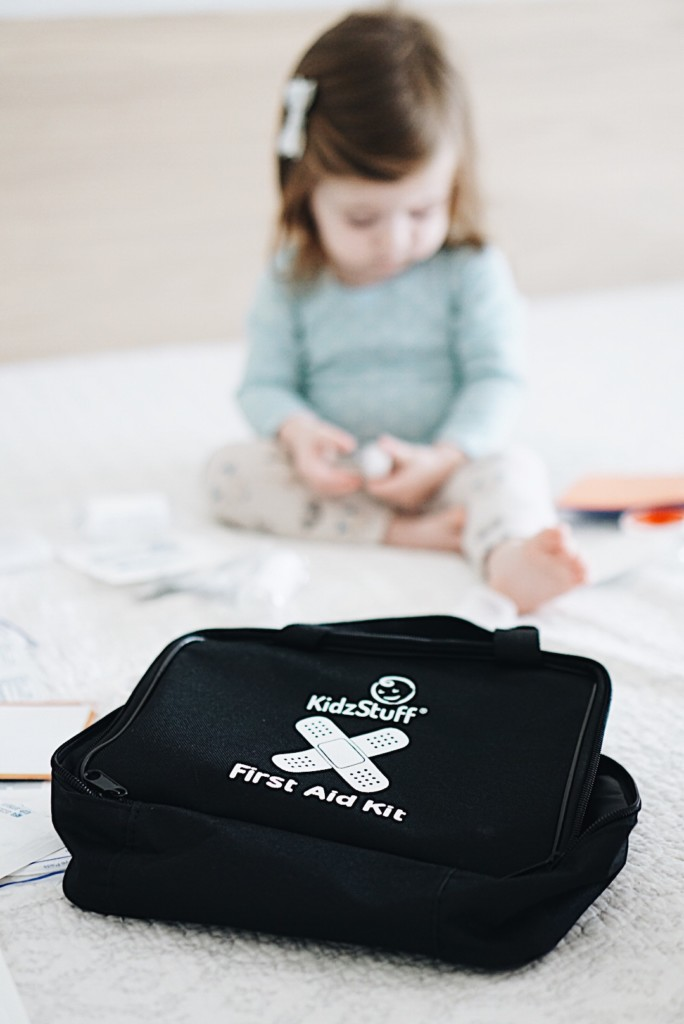Amazing first aid kit actually designed by pediatrician. This is definitely something to keep in the house.