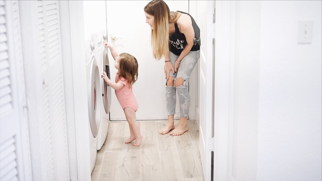 PRODUCT ALERT! This is a kids bed that you can actually WASH in the WASHING MACHINE! It's called Washabelle. That's genius for when kids are sick or even potty training!