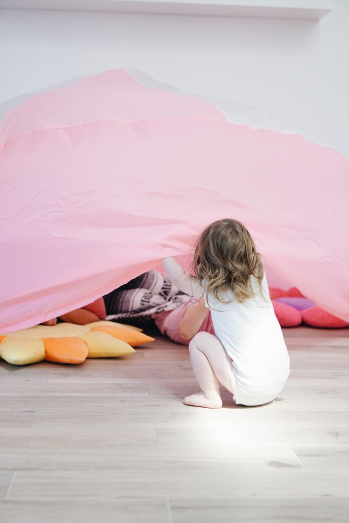 Amazing fort for kids that blows up in seconds with a fan!!! Love The Air Fort!