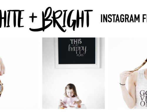 How to curate a white + bright instagram feed