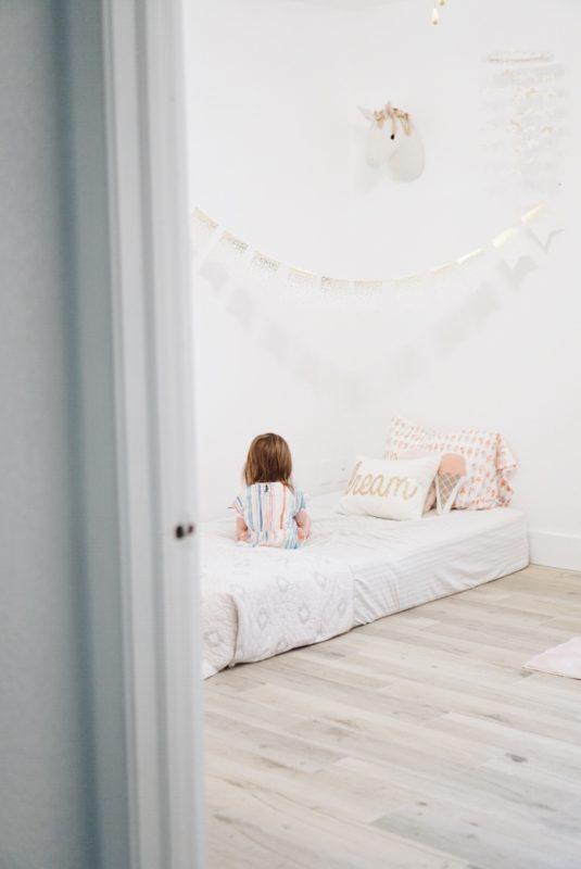 Toddler Bed Update - www.gracefulmommy.com