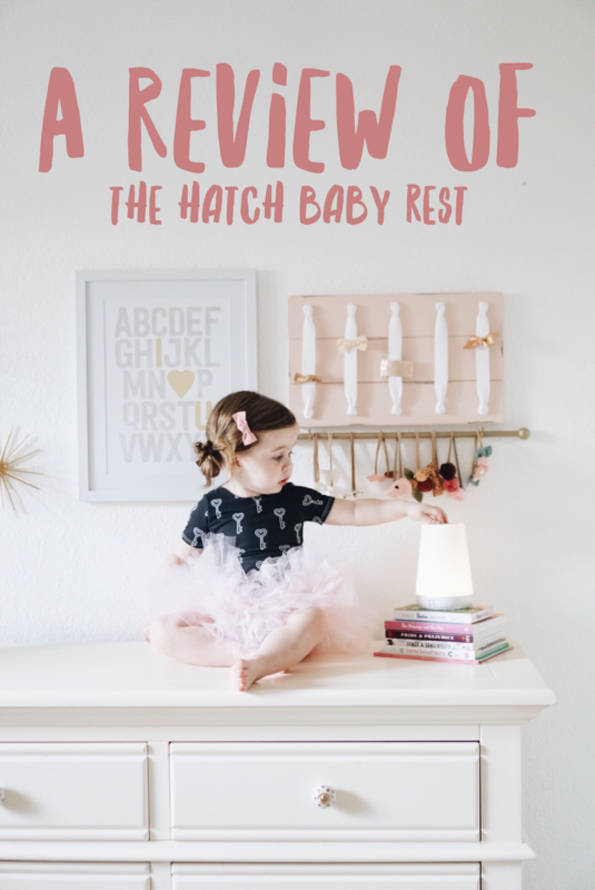 Hatch Baby Rest Review || www.gracefulmommy.com
