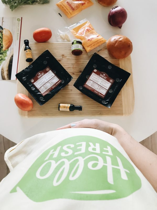 We tried Hello Fresh + this is what we thought about it! A review from a busy work-at-home mama!