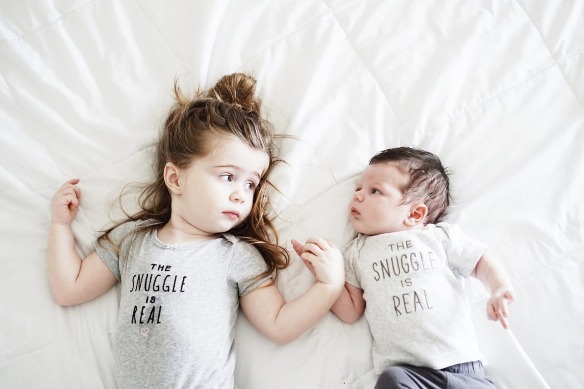 As they grow, I grow // My thoughts on growing as a mom of two