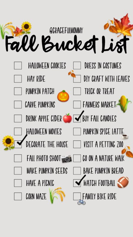 FALL BUCKET LIST // FREE DOWNLOAD!