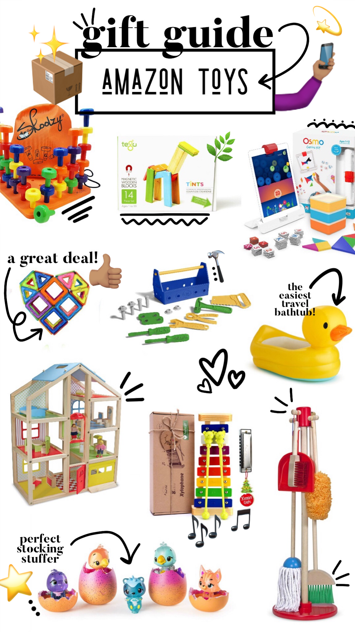 Gift guide: Amazon toys!