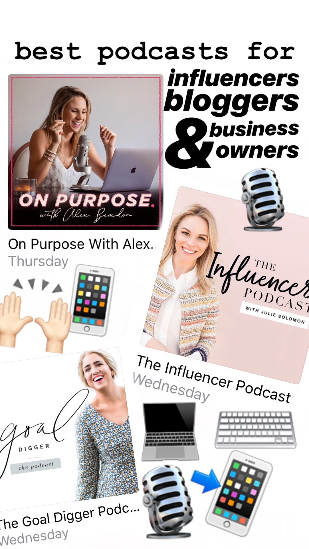 Best apps and tools for influencers, bloggers, and business owners!