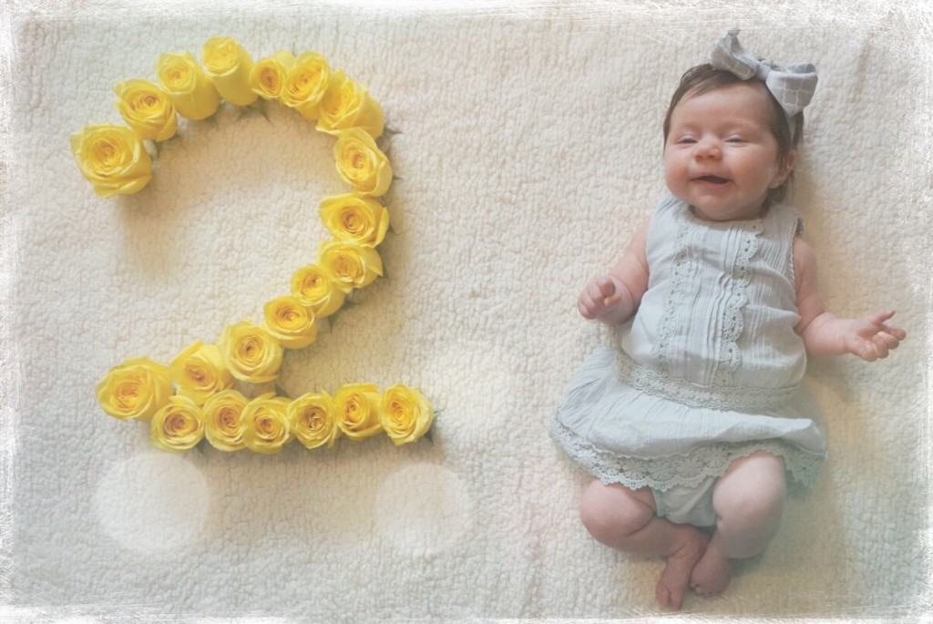 Two month baby update | gracefulmommy.com