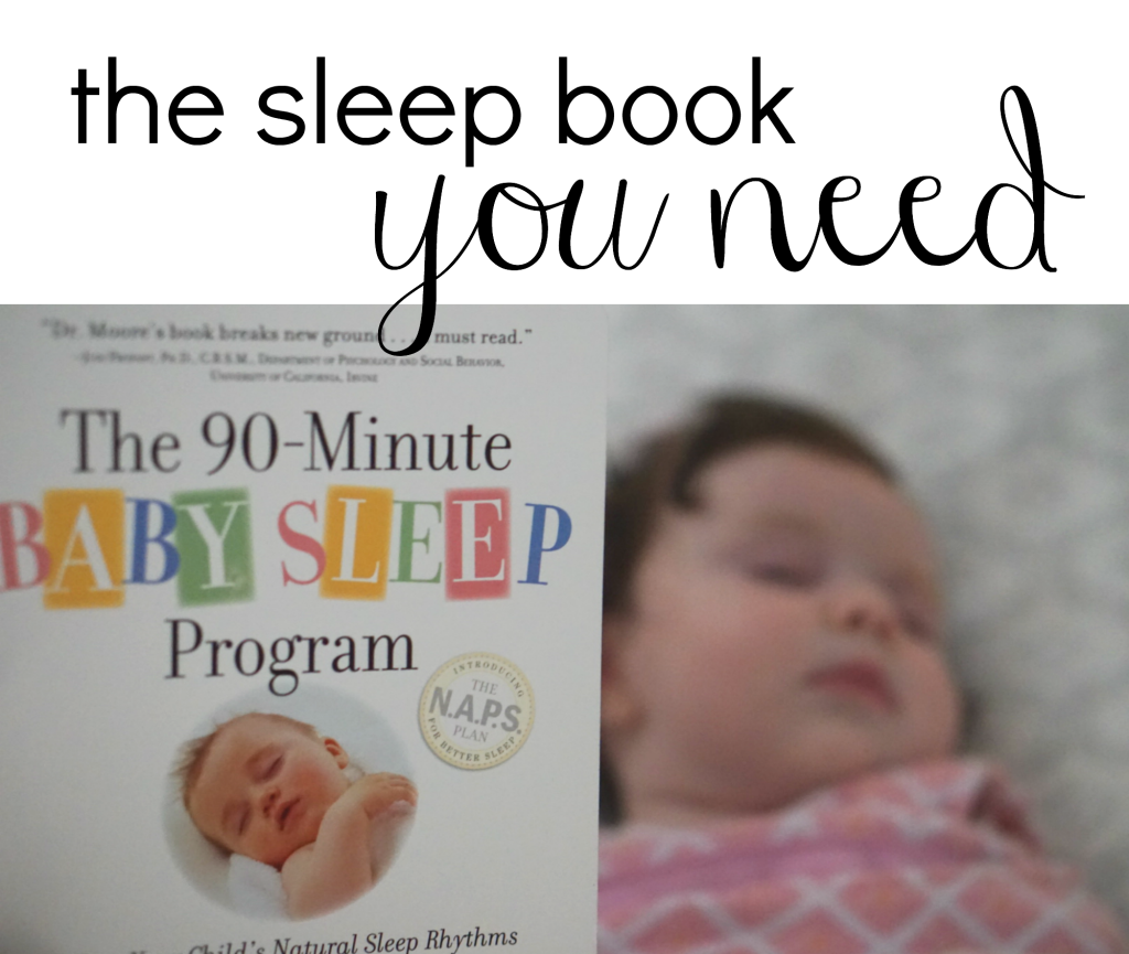 The sleep book you need | www.gracefulmommy.com