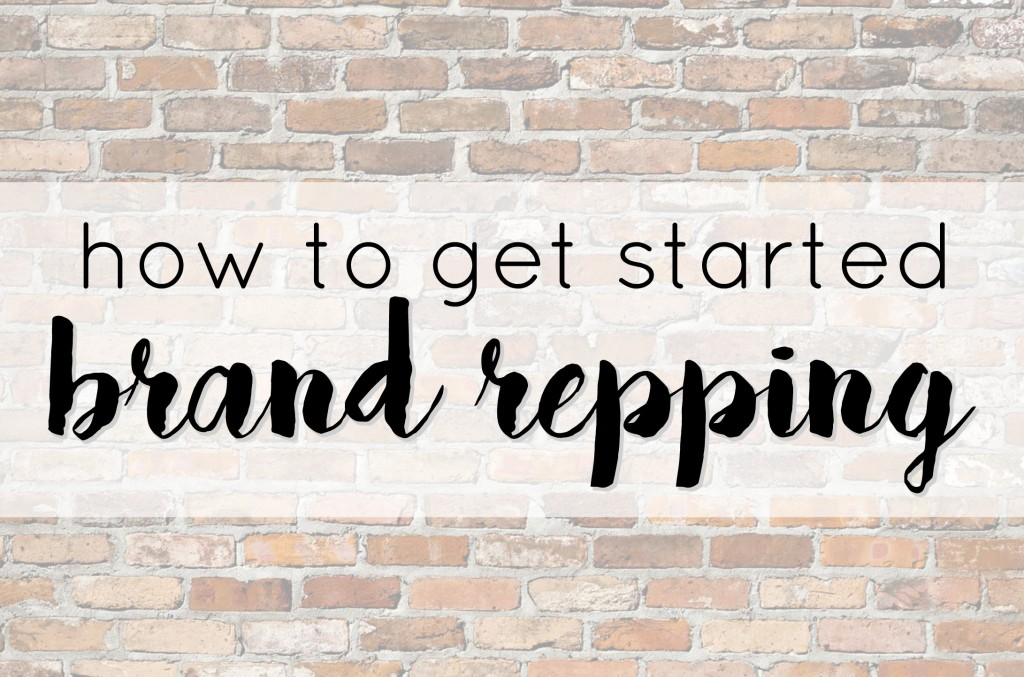 Great blog post explaining the world of Brand Repping and how to get started. Read more at gracefulmommy.com