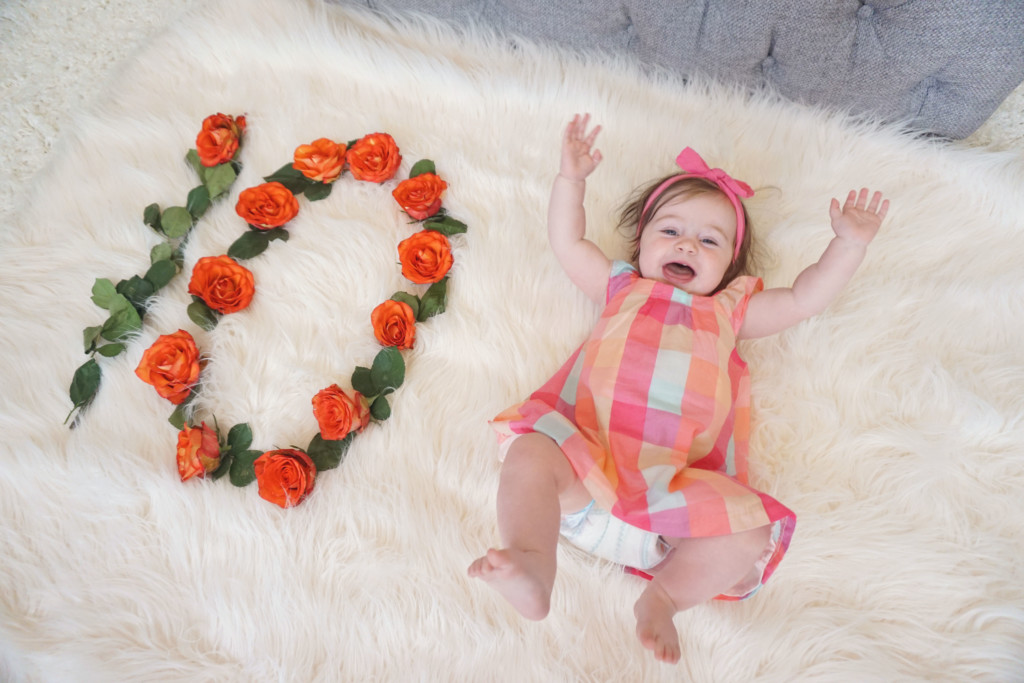 Gracie is 10 months old! Read her update here at gracefulmommy.com