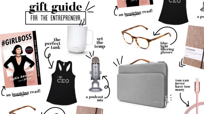 Gift guide for entrepreneurs!