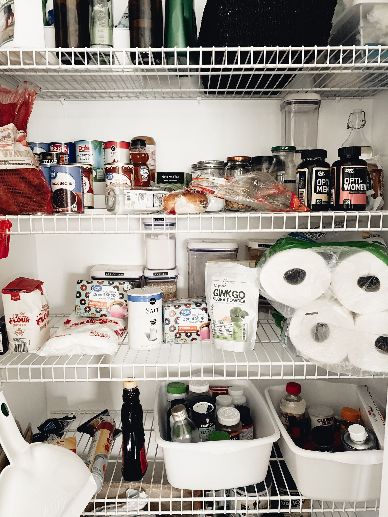 BEFORE + AFTER PANTRY OVERHAUL WITH THE CONTAINER STORE //5 steps to your dream pantry & fridge