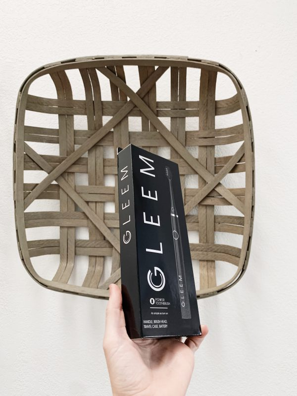 GLEEM Toothbrush Review!