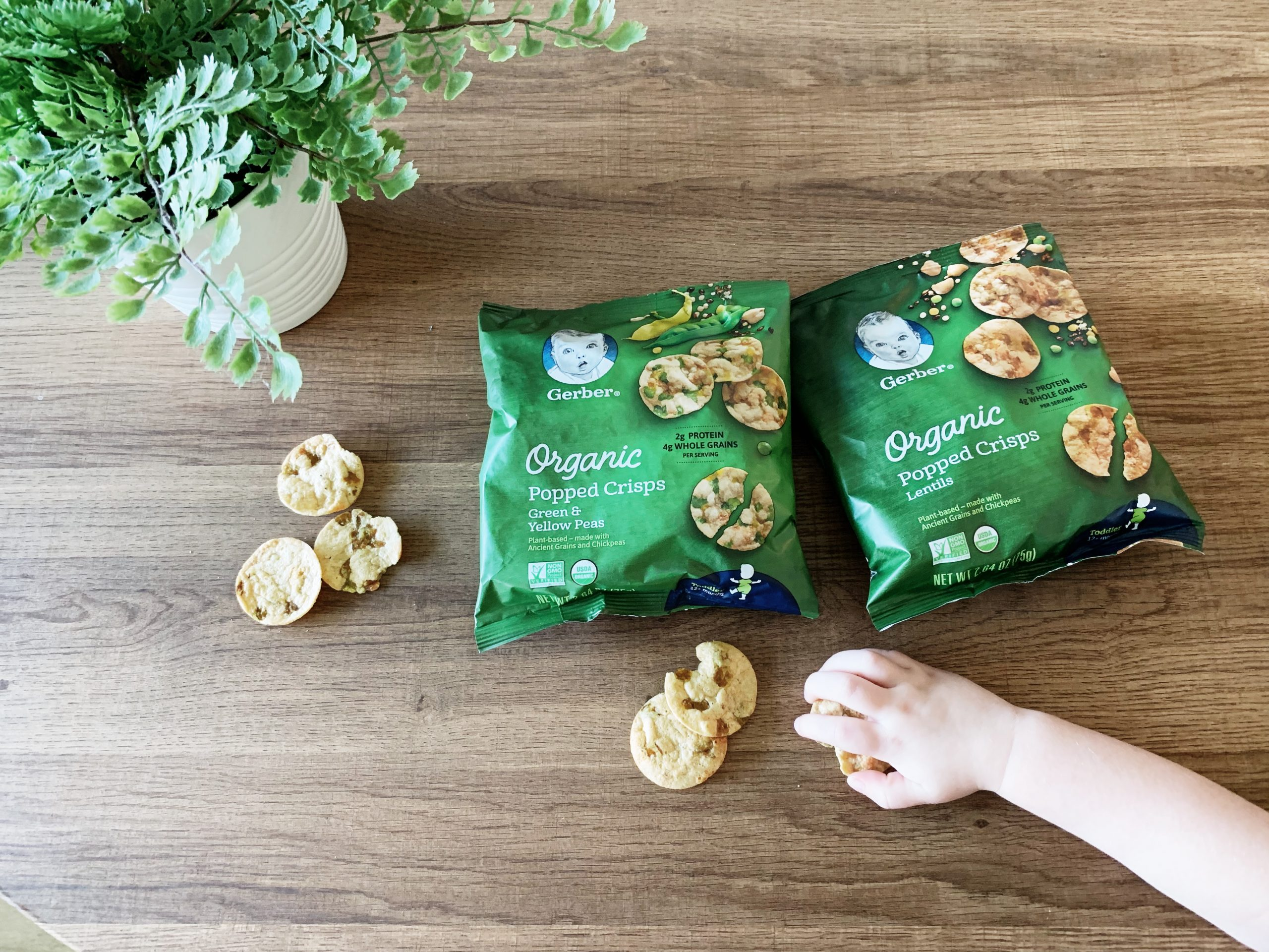 Nutritious toddler snack from Gerber // We love these!!