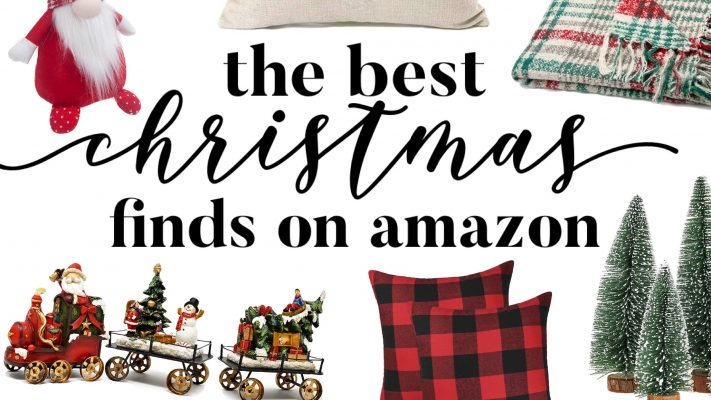 The best Christmas finds on amazon // Amazon christmas decor!